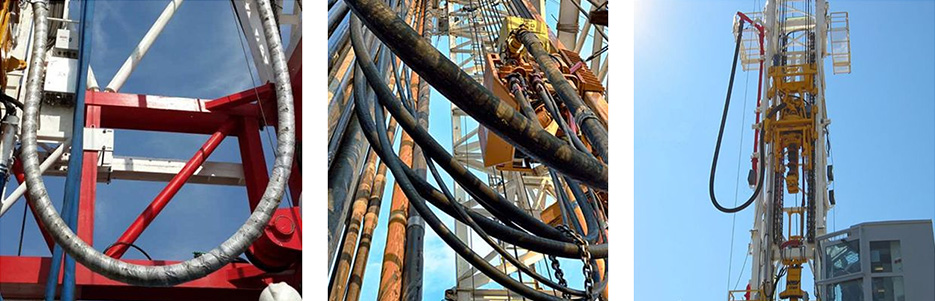 Cementing hose