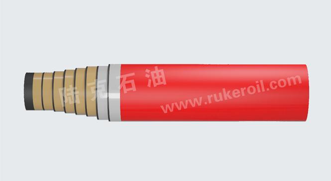 BOP control line hose fire resistant rubber coat 3k
