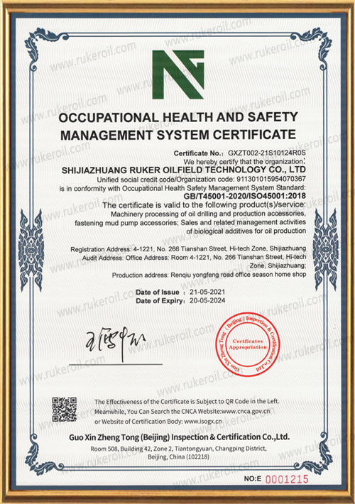 9--Occupation health and safety management
